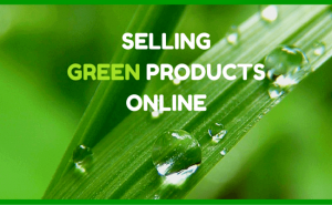 Selling green products online