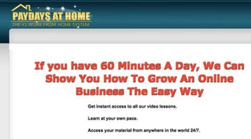 PayDays At Home Program