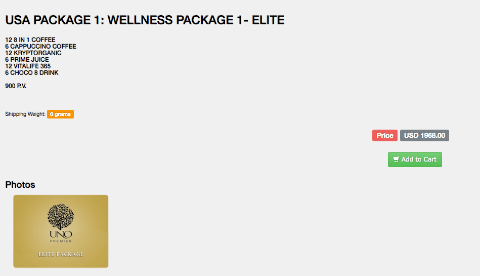 Elite Pack info