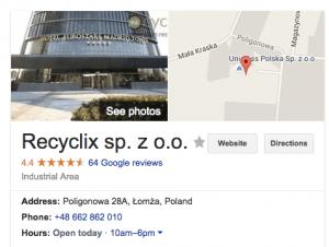 Poland Factory Location