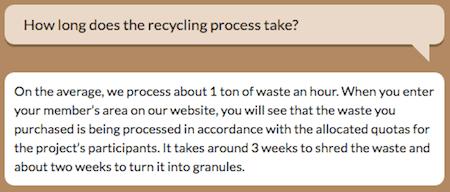 Waste Being Processed