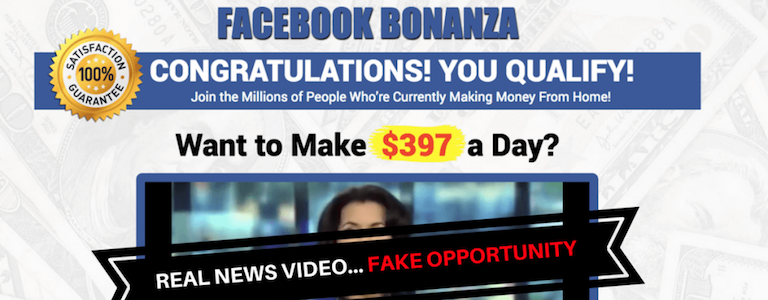 The Facebook Bonanza Scam- This Is NOT What You Think