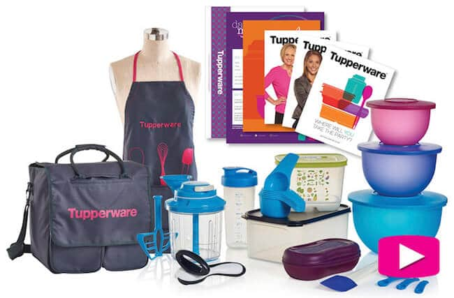 Tupperware Business Starter Kit