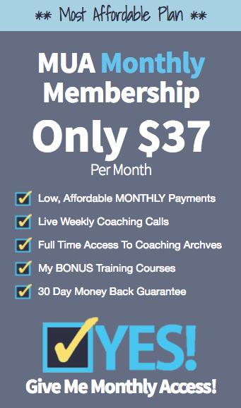 Mua Monthly Membership $37 Upsell
