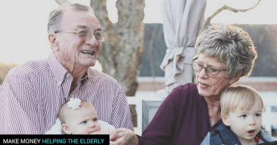 Make Money Helping The Elderly