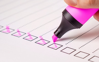 Person Taking Survey
