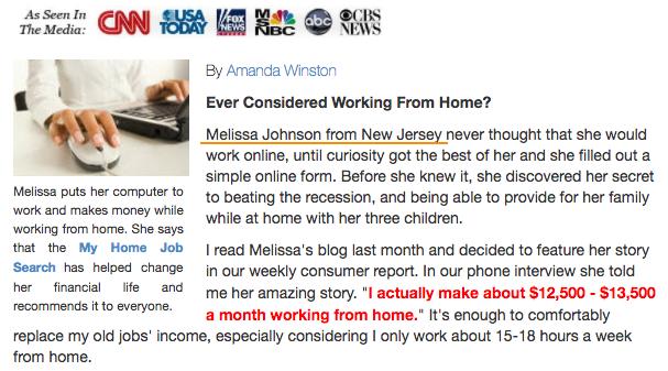Amanda Winston Fake News Report