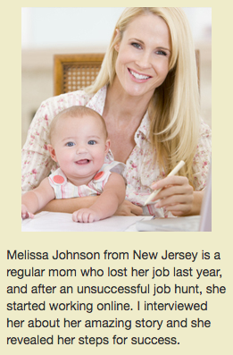 Melissa Johnson Scam