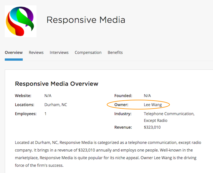 Lee Wang Owner Responsive Media