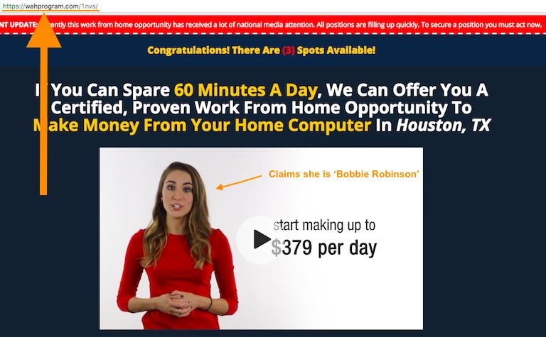 WAH Program Video Sales Page