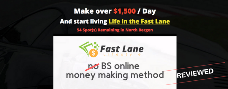 Is Fast Lane Lifestyle a Scam or Easy Road To Profit