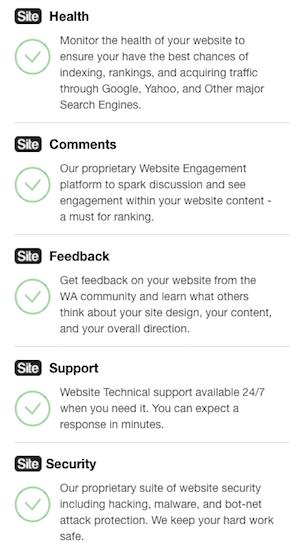 SiteRubix WordPress Website Features