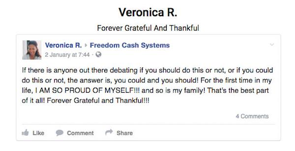 Fake Testimonial Veronica