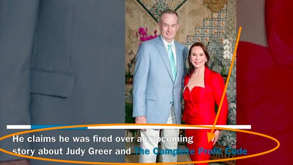 Judy Greer Complete Profit Code