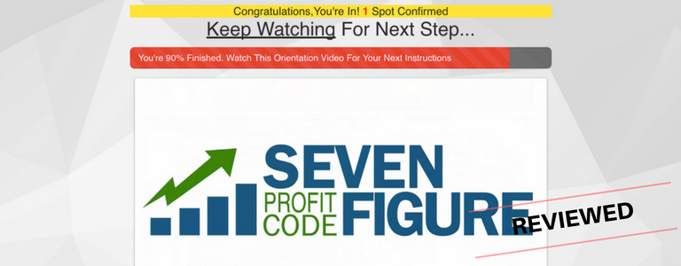 7 Figure Profit Code Review - Will Mike Help You Get Rich