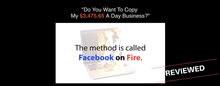 Is Facebook On Fire a Scam or Real Money Making Loophole