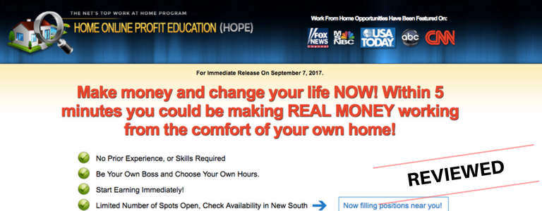 Is Heather Smith's Home Online Profit Education a Scam