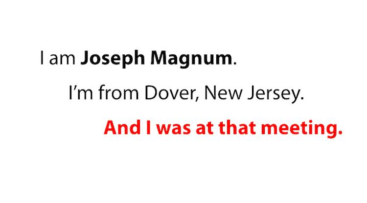 Joseph Magnum