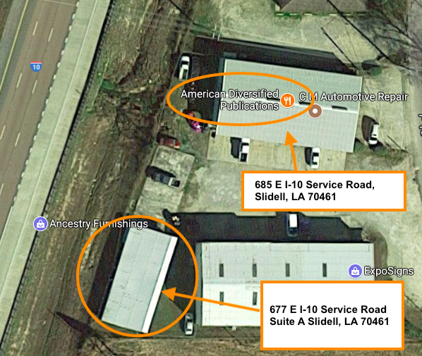 Google Maps Arial View Business Location