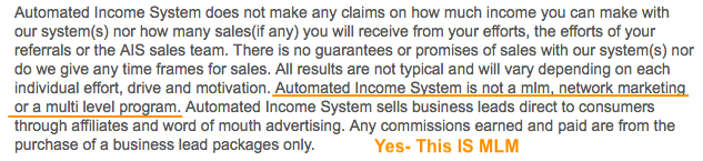 Automated Income System MLM