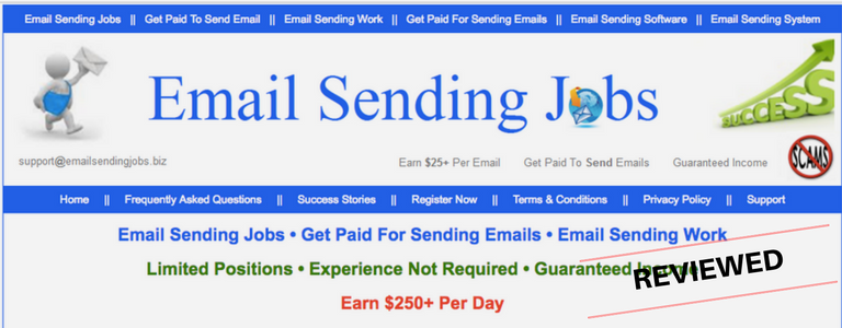 What Is Email Sending Jobs - Legit Home Job or Big Scam