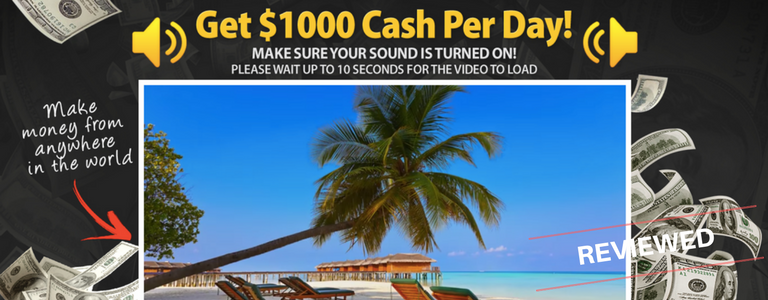 Get Paid 1k Per Day Review - Automated Money Sites or Big Scam