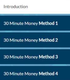 30 Minute Money Methods Training
