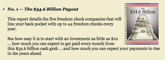 36.4 Billion Dollar Payout