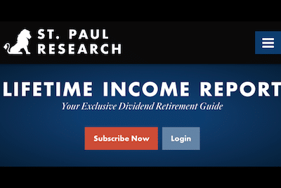 Lifetime Income Report service on St. Paul Research website.