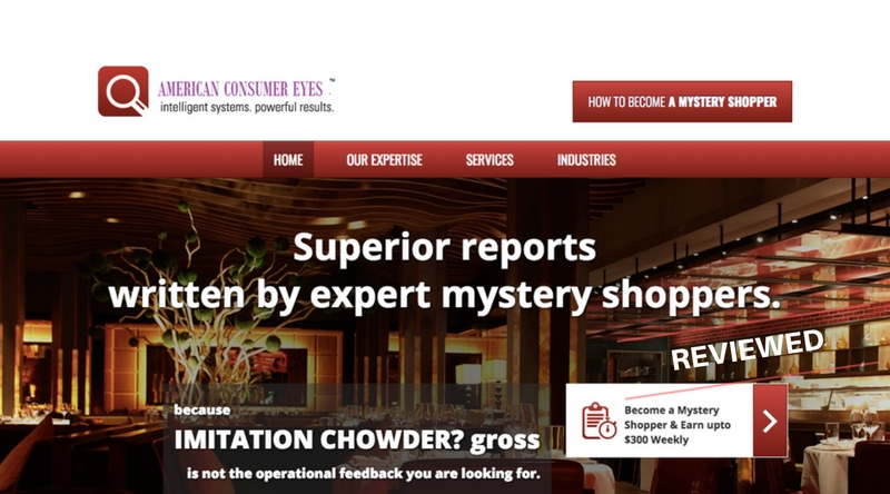 American Consumer Eyes Scam - Fake Mystery Shopper Jobs Exposed