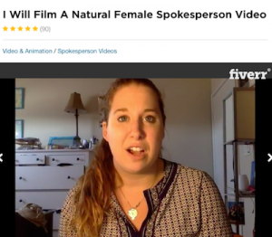Fiverr Actress