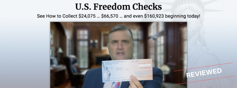What Is Freedom Checks - Scam or Real Way To Profit - Review