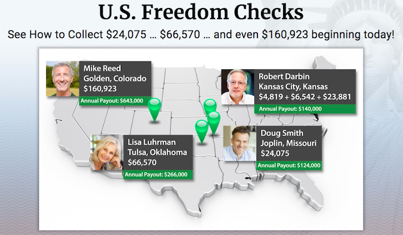 Freedom Checks Testimonials