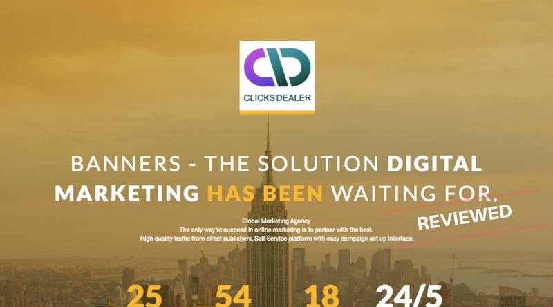 Is Clicks Dealer a Scam or Will You Really Earn Money With Their Ad Banners