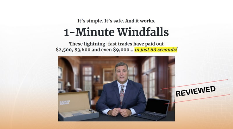 Is 1 Minute Windfalls a Scam or Easy Way To Make Money - Let's Find Out