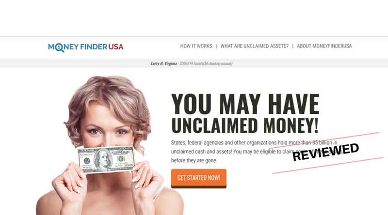 Money Finder USA - Scam or Will You Discover Unclaimed Money and Assets