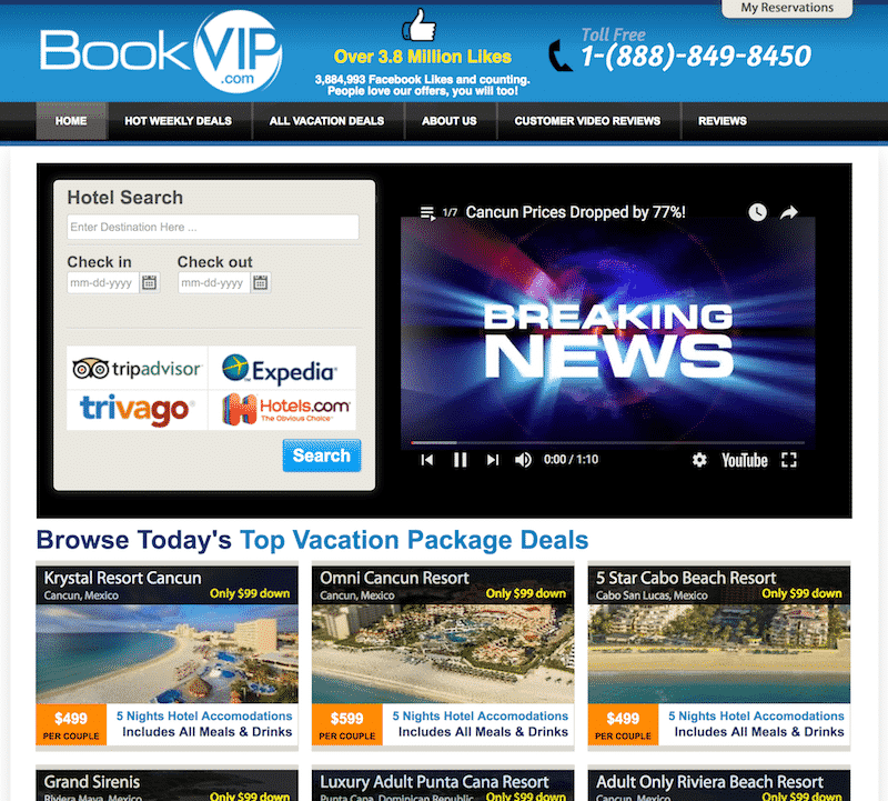 bookvip.com website