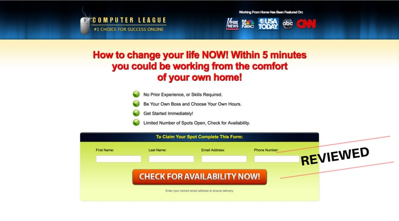 Is Computer League a Scam or Legit Work From Home System