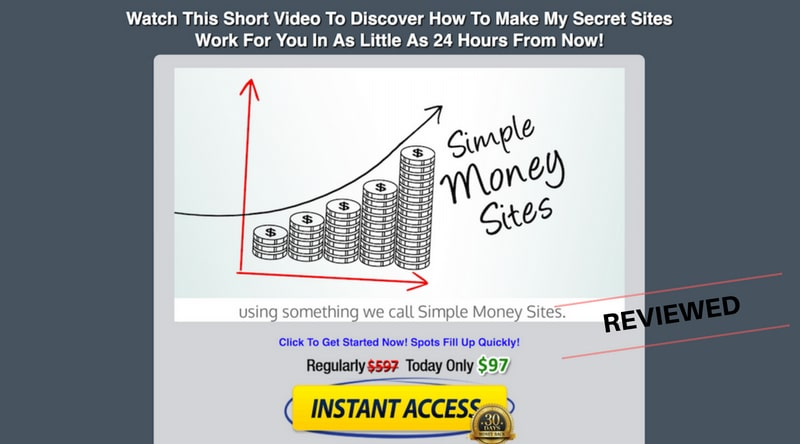 Is Simple Money Sites a Scam or Legit Money Making System