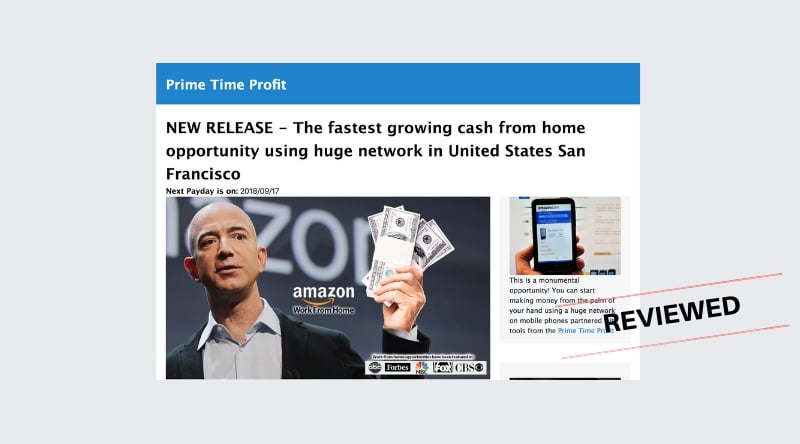 Prime Time Profit - Scam or New Amazon Work From Home Program
