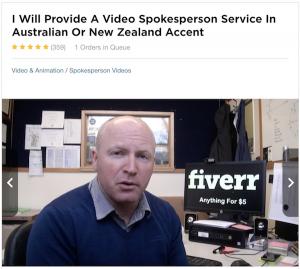 Fiverr Actor