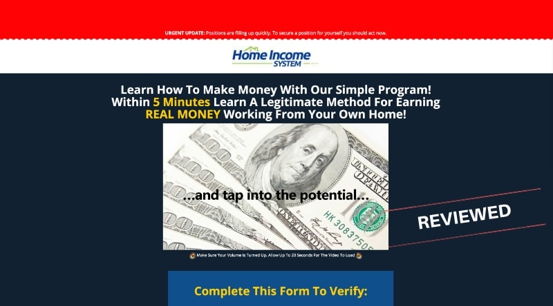 Is Home Income System a Scam or Will You Make Money Posting Ad Links