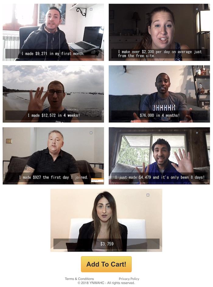 Testimonials for YNAHC