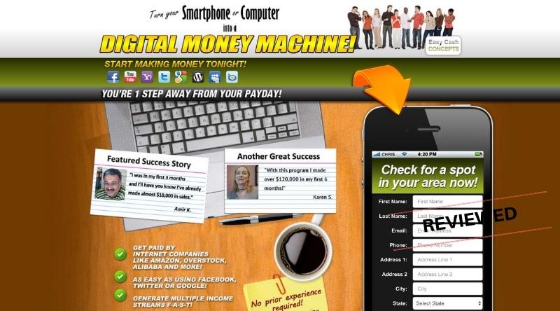 Easy Cash Concepts - Scam or Legit - Honest Review