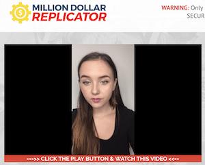 Fake Testimonial 3 - Million Dollar Replicator