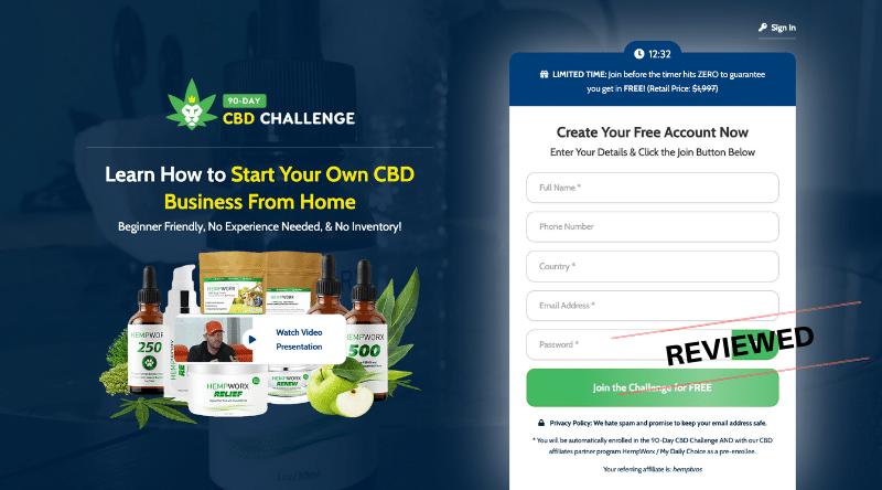 90 Day CBD Challenge - Legit or Scam