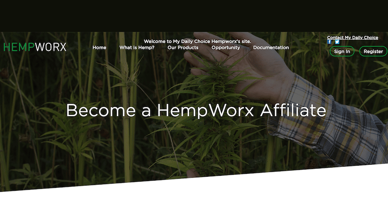 How To Become a HempWorx Distributor