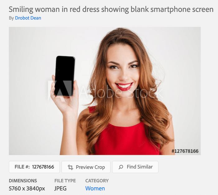 Stock Photo Woman