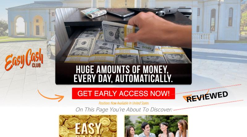 Easy Cash Club - Scam or Legit