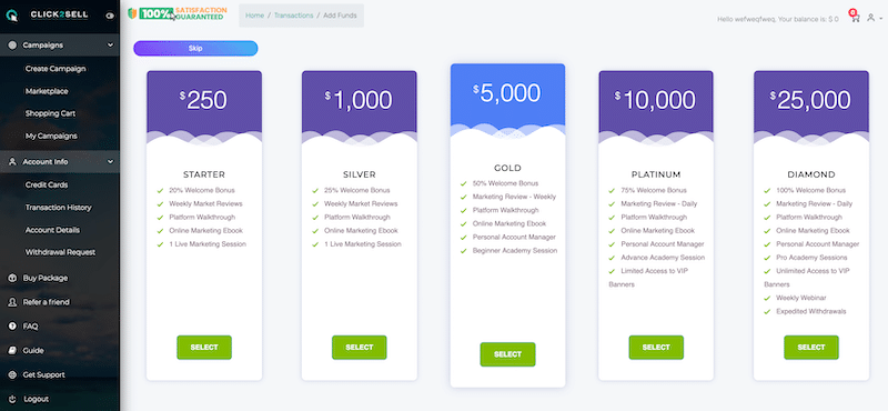 Membership Options and Pricing